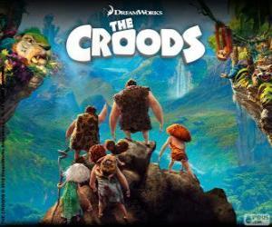 Die Croods, DreamWorks-film puzzle