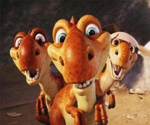 Die drei kleinen Dinos puzzle