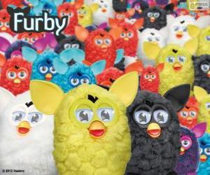 Die Furbys, ein elektronisches Spielzeug puzzle