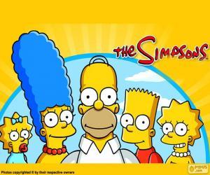 Die ganze Familie Simpson puzzle
