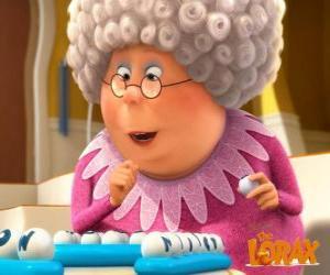 Die Großmutter Norma ist voller Leben und Energie puzzle