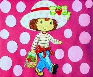 Die hübsche Puppe Emily Erdbeer puzzle