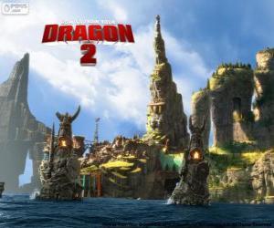 Die Insel Berk, Drachenzähmen leicht gemacht 2 puzzle