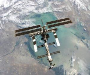 Die Internationale Raumstation (ISS) puzzle