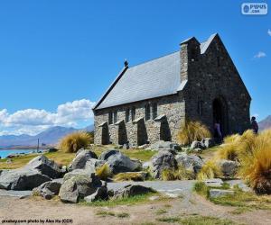 Die Kirche zum guten Hirten, New Zealand puzzle