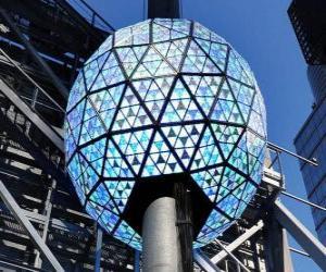 Die Kugel des neuen, Times Square, Manhattan, New York puzzle