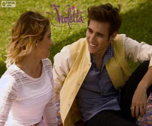 Die Liebe der Violetta und Leon, Violetta 3 puzzle
