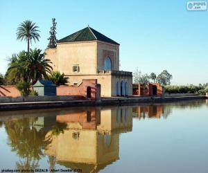 Die Menara, Marokko puzzle