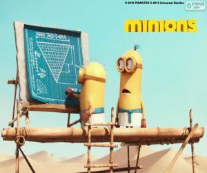 Die Minions in Ägypten puzzle