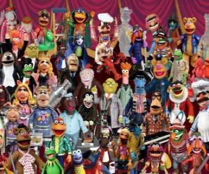 Die Muppets-Zeichen puzzle
