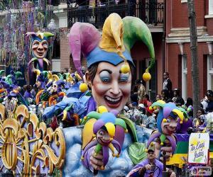 Die Narren Karneval puzzle