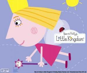Die Prinzessin Fee Holly mit dem Zauberstab puzzle