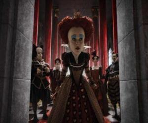 Die Rote Königin Iracebeth ist die tyrannische Herrscher der Unterwelt. puzzle