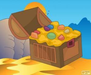 Die Schatztruhe von Aladdin puzzle