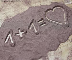 Die Summe macht Liebe puzzle