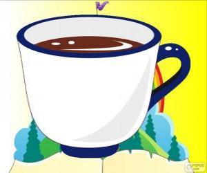 Die Teetasse, die Tasse Tee von Alice puzzle