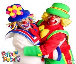 Die Umarmung der Clowns, Patatí und Patatá puzzle