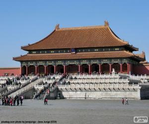 Die Verbotene Stadt, China puzzle