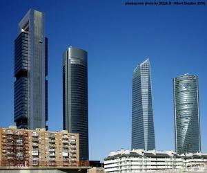 Die vier Türme der Madrid puzzle