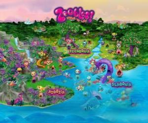 Die Welt der die Zoobles puzzle