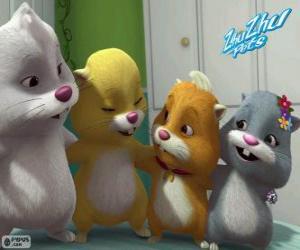 Die Zhu Zhu Pets Hamster puzzle