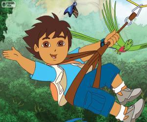 Diego und die Seilrutsche puzzle