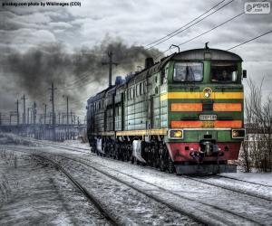 Diesellokomotive puzzle