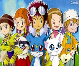 Digimon des Protagonisten puzzle