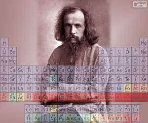 Dmitri Iwanowitsch Mendelejew puzzle