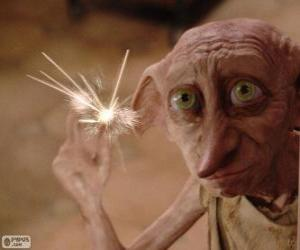 Dobby, ein Hauself von Harry Potter puzzle