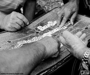 Domino spielen puzzle
