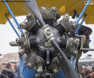 Doppeldeckermotor puzzle