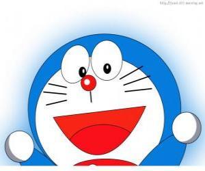 Doraemon heißt das Zauberwort Freund Nobita und Protagonist des Adventures puzzle