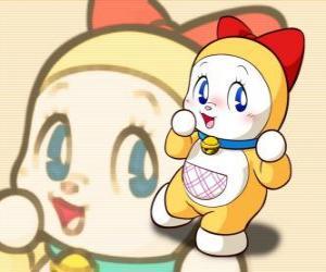 Dorami ist Dorami-chan die kleine Schwester von Doraemon puzzle
