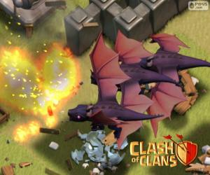 Drachen 2, Clash of Clans puzzle