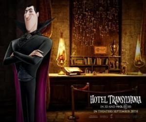 Dracula, der Besitzer des Hotel Siebenbürgen puzzle