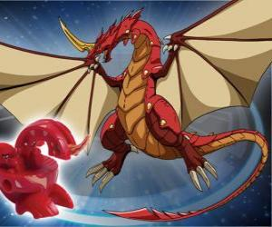 Dragonoid ist einer der mächtigsten Spezies in Vestroia puzzle
