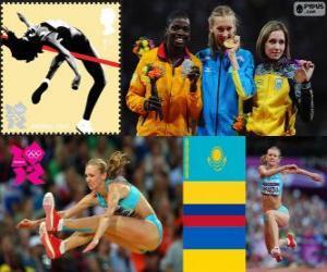 Dreisprung der Frauen London 2012 puzzle