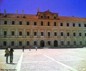 Ducal Palast von Vila Viçosa, Evora, Portugal puzzle