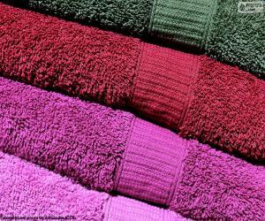 Dusch-und Handtücher puzzle