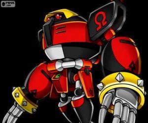 E-123 Omega, Roboter erstellt von Doktor Eggman puzzle