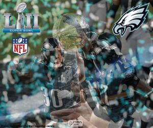 Eagles, Super Bowl-2018 puzzle