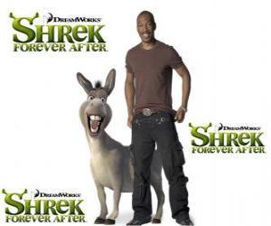 Eddie Murphy gibt die Esel, der neueste Film Für immer Shrek puzzle