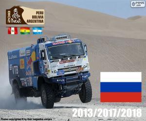 Eduard Nikolaïev, Dakar-2018 puzzle