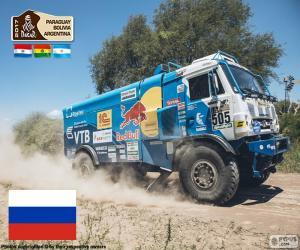 Eduard Nikolaev, Dakar 2017 puzzle