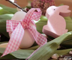 Ei und Osterhase puzzle