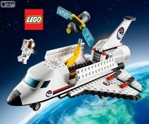 Ein Lego City Raumfähre bereit puzzle