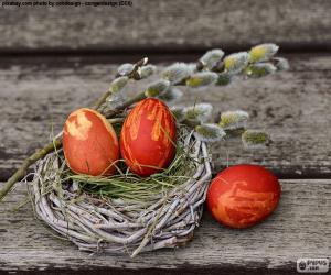 Ein Nest von Ostern puzzle