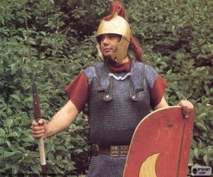 Ein römischer soldat puzzle
