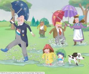 Ein Regentag im Königreich von Little Princess puzzle